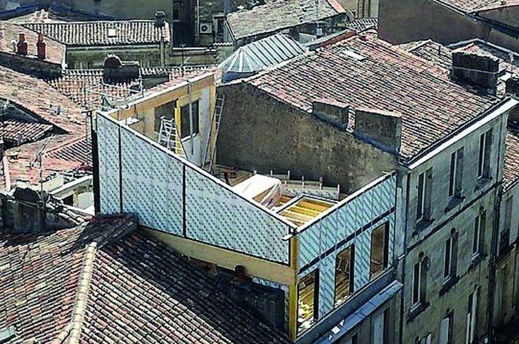Surélévation immeuble